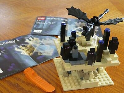 Lego Minecraft Micro World The End 21107 New Retired Set