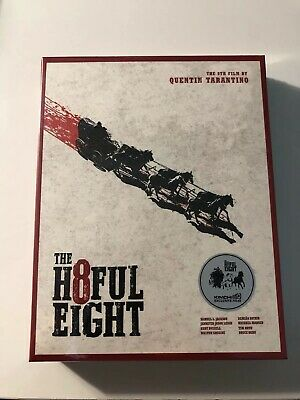The Hateful Eight (2016, Blu-ray) Full Slip Case Steelbook Edition / kimchiDVD