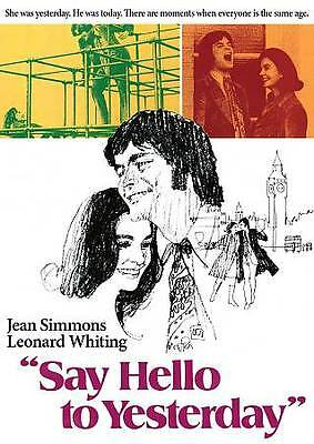 Say Hello to Yesterday (DVD, 2010, Cinerama) Jean Simmons NEW / FREE SHIPPING