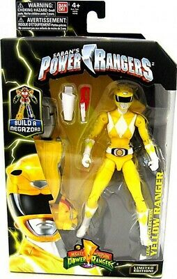 Power Rangers Mighty Morphin Legacy 6.5 Inch Yellow Ranger Action Figure.