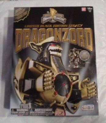 Limited Black Edition Legacy DRAGONZORD Mighty Morphin Power Rangers Figure