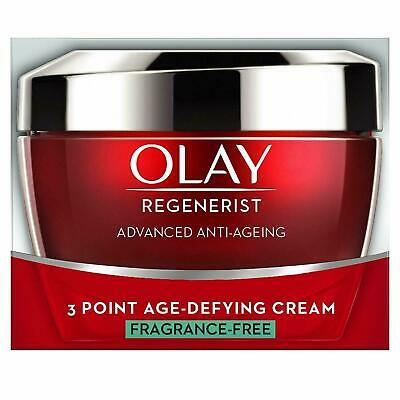 Olay Regenerist 3-Point Age-Defying Cream Fragrance Free Moisturiser - 50ml