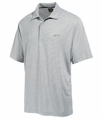 f80bb5f43 GREG NORMAN MENS Heathered Colorblocked Rugby Polo Shirt - $24.19 ...