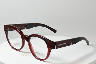 7777643c1454 NEW EYEGLASSES BURBERRY B 2209 3559 Rx 53mm Tortoise Eyeglasses ...