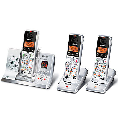 UNIDEN 5335+2 DIGITAL CORDLESS HOME OR OFFICE PHONE SYSTEM 5.8GHz ANS/MACHINE