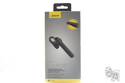 7b84f9e8360 Jabra Stealth+ Bluetooth Wireless Headset Noise Cancelling - Midnight Black  USED