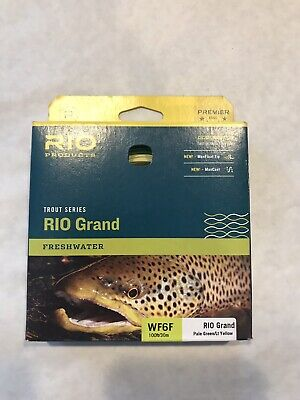 RIO COLDWATER CLOUSER FLOATING FLY LINE WF10F,XS CHARTREUSE MSRP $74.95