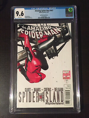 Amazing Spider-Man 667 Dell'Otto variant cover 1:100 CGC 9.6 Very Hard to Find