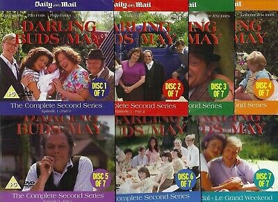 The Darling Buds Of May - Series 2 Complete - 7 Discs - Mail Promo Dvd