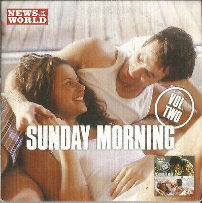 SATURDAY NIGHT/SUNDAY MORNING - DISC 2 OF 2-VARIOUS ARTISTS - NoW PROMO MUSIC CD