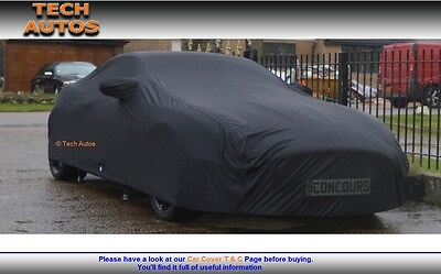 Premium Indoor Black Satin Car Cover Luxor BMW Z3 Coupe Roadster