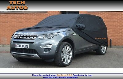 Premium Indoor Black Satin Car Cover Luxor Land Rover Freelander