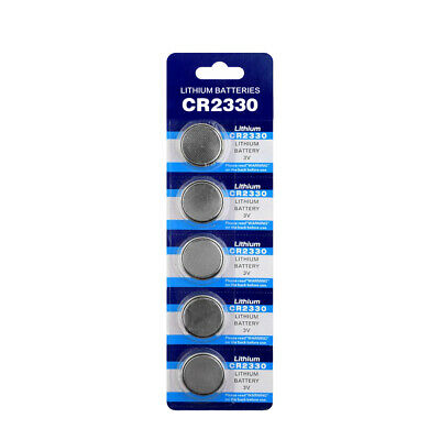 5x 3V CR2330 Cell Coin Button Battery Watch Remote Toys 2330 BR2330 ECR2330