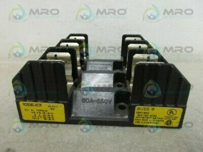 Buss R25060-3Cr Fuseholder *Used*