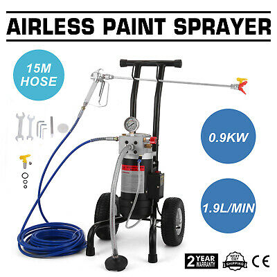 All-in-One Airless Paint Sprayer Spray Gun Wall Paint  w/ Extension Filter