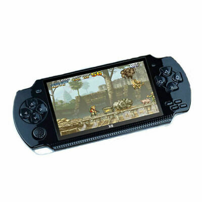 X6 PSP Portable Handheld Classic Game Console Controller MP4 MP3 Player New SGBT