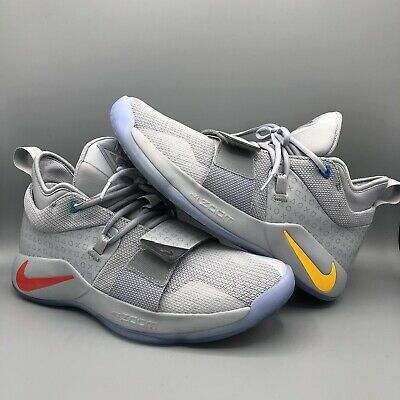 online store b2940 90ebf NIKE PG 2.5 Playstation PS Wolf Grey Multi-Color Paul George ...