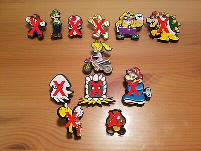 Nintendo Super Mario Collector Pins - You Pick - Series 1, 2, 3, and 4