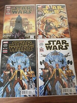 Marvel Comics STAR WARS Issues #1 - #8 First Print With Issue #1 Variant Job lot