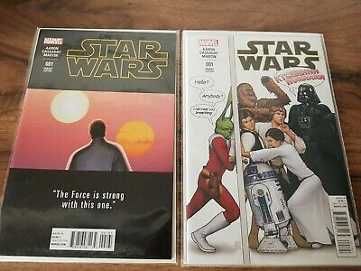 Marvel Comics STAR WARS Issue #1 Variant Covers x4 - Joblot / Bundle.
