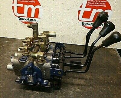Hydraulic valve bank with levers 4 spool / Toyota forklift
