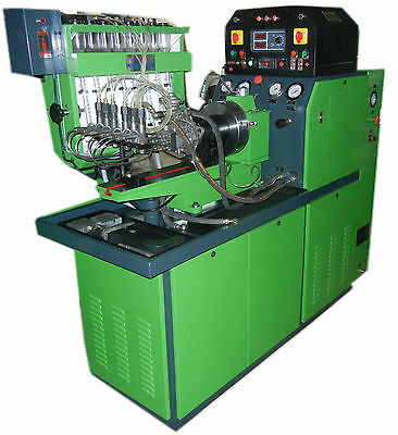 8 CYLINDER DIESEL Fuel Injection Pump Test Bench / Stand, Model: NMT 800 E
