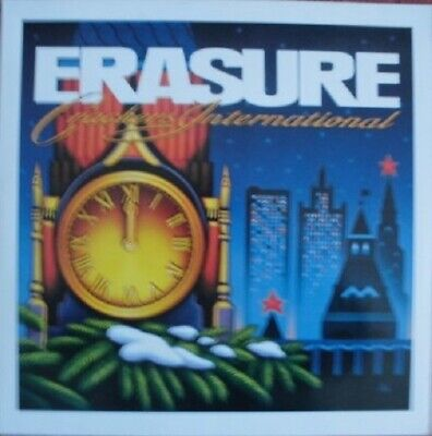 "12inch Maxi Vinyl – Erasure – Crackers International ( ""Stop!"" + 3 ) MUTE/1988"