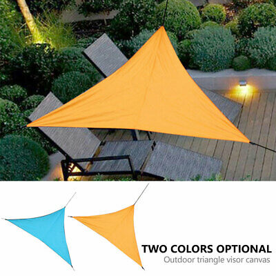 Sun Shade Sail Garden Patio Awning Canopy Sunscreen Waterproof 98% UV Block UK