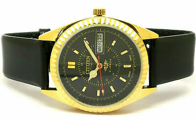 Seiko 5 Automatic Men,s Steel Vintage Green Dial Made Japan Watch Run Order...