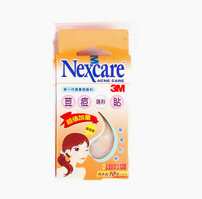 3M Nexcare Acne  Pimple Stickers Patch Combo (36+ 10pcs) 1Pack New Free Ship