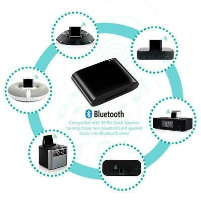 Music Audio Receiver Bluetooth 4.1 A2DP Stero Adapter For Bose Sounddock 30Pin
