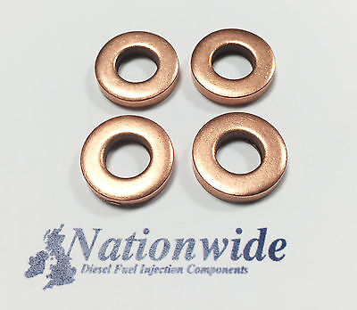 Renault Clio Grandtour 1.5 DCI Common Rail Diesel Injector Washers//Seals VDO x 4