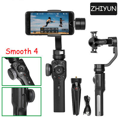 Zhiyun Smooth 4 Handheld Gimbal Schwebestative Stabilisator für iphone Android