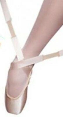 Pointe Shoe Ribbon with elastic insert / Same Day Post - Ballet Pink