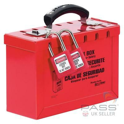 Masterlock 498A Group Lockout Box (235mm x 152mm x 95mm)