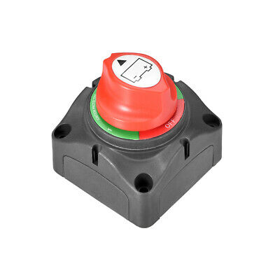 DC 12-24V Battery Disconnect Switch Cut/Shut Off Marine Battery Switch 300A
