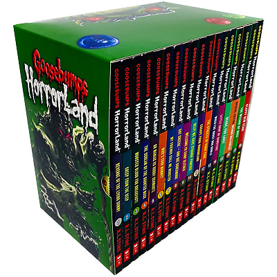 R L Stine Goosebumps Horrorland Series 18 Books Collection Box Set Pack NEW