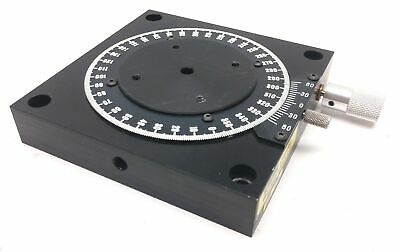"""Parker 10000 Rotary Positioner Stage, Table Diameter: 2.75"""", Range: 360°"""