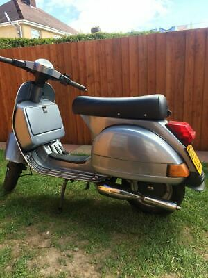 2004 Vespa Badged Lml 125 Disc ,electric Start, Manual Gearbox 12 Months Mot