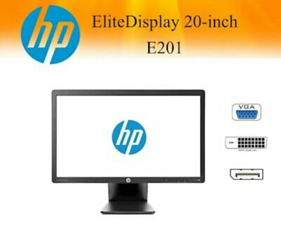 "HP EliteDisplay E201 20"" LED Backlit Widescreen Monitor Grade B"