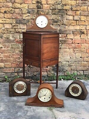 4 Westminster Chime Edwardian Art Deco Mantle Clocks