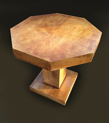 Lovely vintage/antique Art Deco walnut lamp/side/coffee table. Delivery E.Anglia