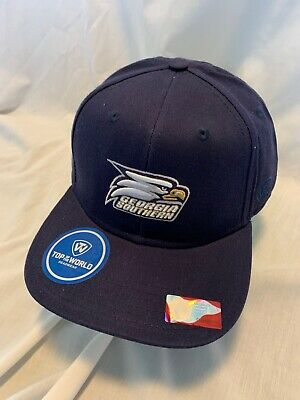 premium selection 1f819 0b3af Georgia Southern Eagles Top Of The World Hat Ncaa League Adj Snapback Osfm  Nwt