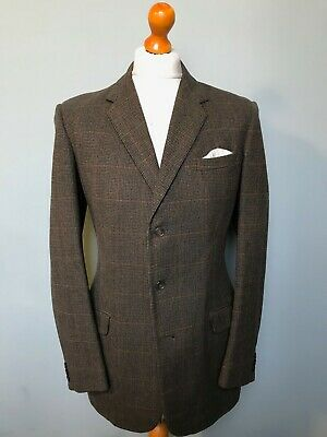 .  Vintage 1960's moss Bros west of England tweed suit size 40 long