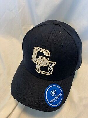 timeless design 995c0 38414 Georgetown Hoyas Ncaa Venue Top Of The World Hat Cap Adj Snapback Osfm Nwt