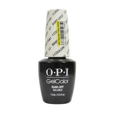 OPI GelColor Soak-Off Gel Lacquer Nail Polish, I Couldn't Bare Less