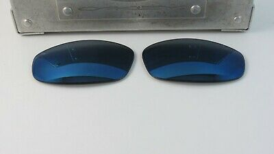 6c98f38a1f Oakley Pit Boss 1.0 Ice Iridium Replacement Lenses Custom OEM TRON NEW RARE