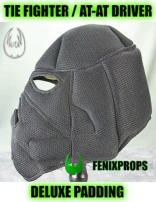 Tie Fighter / AT-AT Driver Helmet DELUXE PADDING STAR WARS prop