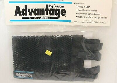 Advantage Bag Co. Wheelchair Under Seat Mesh Cargo Net Storage Shelf