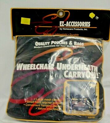 EZ-Accessories by Homecare Products Wheelchair Underneath Mesh Canopy CarryON!